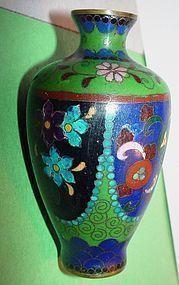 Art Deco  Chinese Cloisonne Vase