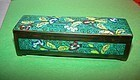 Chinese Cloisonne Stamp Box