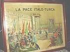 La Pace Italo-Turca ~ J. Abys  1912