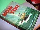 1stEd KON TIKI ~ THOR HEYERDAHL ~ 1950  Second Printing