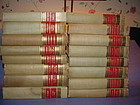 Classics Club Set Of 16 Home Library Books ~Philosophy Poetry
