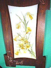 Authentic Arts & Crafts Oak + Copper Frame