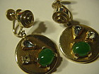 SPERRY RETRO  Earrings w/ Stones