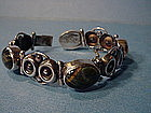 TAXCO Mexican Sterling Stone Bracelet