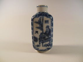 Qing dynasty snuff bottle