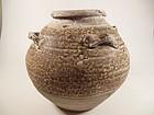 Brown Glaze Song Dynasty Jar