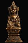 Antique Bronze Statue of Buddha