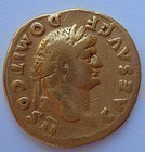 A ROMAN GOLD AUREUS OF DOMITIAN
