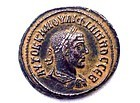 A ROMAN BILLION TETRADRACHM OF PHILIP I