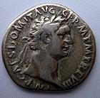 A ROMAN SILVER DENARIUS OF DOMITIAN