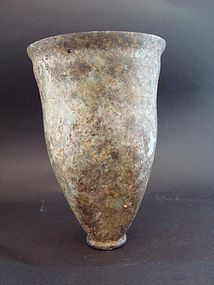 A ROMAN GLASS BEAKER