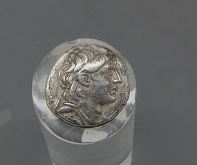 A SILVER DIDRACHM OF ANTIOCHUS VII EUERGETES (SIDETES)