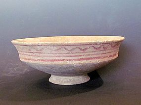 A LATE BRONZE AGE CARINATED BOWL