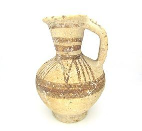 A BICHROME WARE JUGLET FROM THE HOLY LAND