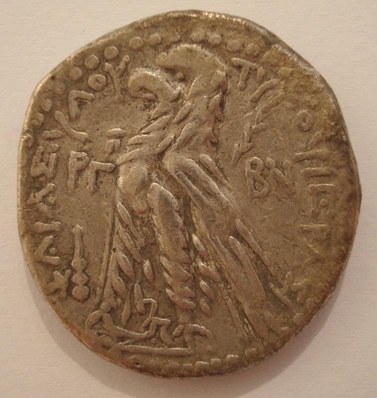 A SILVER SHEKEL OF TYRE (24/23 BCE)