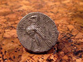 A SILVER SHEKEL OF TYRE (74/73 BCE)