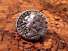 A ROMAN DENARIUS OF COMMODUS