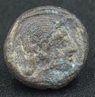 AN EXTREMELY RARE SILVER DRACHM OF PHILISTIA