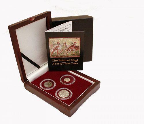 THE BIBLICAL MAGI: A SET OF THREE COINS