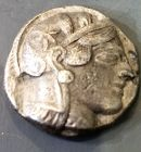 A SILVER ATHENIAN TETRADRACHM