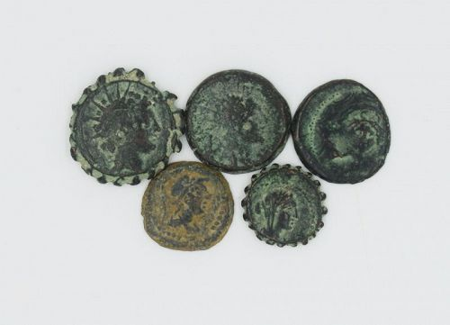 SELEUCID BRONZE COINAGE FROM 223-129 BCE