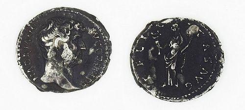 A ROMAN DENARIUS OF HADRIAN