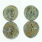 TWO BRONZE FOLLES FROM THE REIGN OF GALERIUS