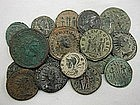 A COLLECTION OF 18 ROMAN BRONZE COINS