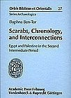 """""""SCARABS, CHRONOLOGY AND INTERCONNECTIONS"""""""