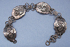 Silver Arts and Crafts Bracelet, c. 1940