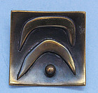 Hogan-Bolas Brass Pin, c. 1960