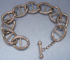 Uno A Erre Silver Link Bracelet, c. 1970