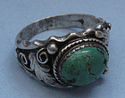 Sterling and Turquoise Ring, c. 1970