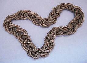 Thick Rope Necklace, c. 1975