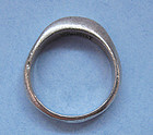 Tiffany Sterling Band Ring, 1999