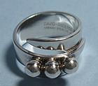 David-Andersen Sterling Ring, c. 1960