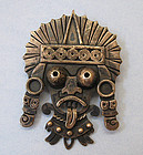 Mexican Sterling Pin by Doris, c. 1950