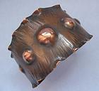 Copper Cuff, Naturalistic Design, c. 1955