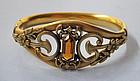 American Gold-Plated Bracelet, c. 1910