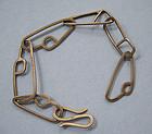 Gilded Metal Link Bracelet, c. 1960