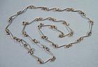 Sterling Handmade Necklace c. 1975