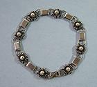 Danish Sterling Link Bracelet, c. 1960
