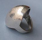 Sterling Domed Ring, c. 1970