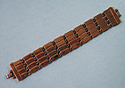 Renoir Copper Link Bracelet, c. 1965