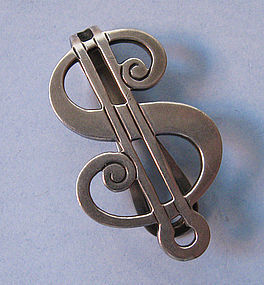 Sterling Money Clip, c. 1960