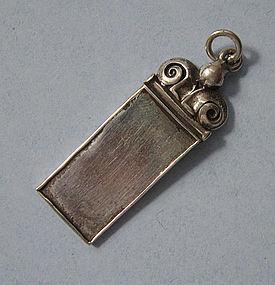 Handmade Sterling Pendant, c. 1980