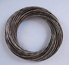 Heavy Articulated Bangle, c. 1980