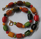 Bakelite Bead Necklace