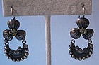 Mexican Sterling and Crystal Earrings