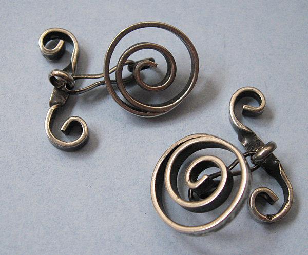 Handmade Sterling Cuff Links